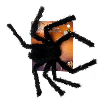 Décoration Halloween Light Up Spider avec Violet Couleur Light, 28 '' - G.Ghouls
