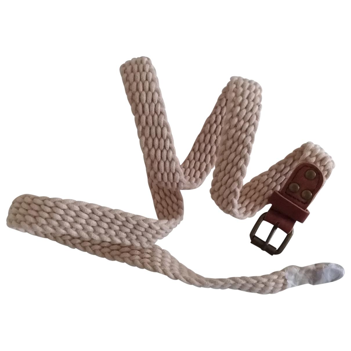 Scotch & Soda \N White Cloth belt for Men L international