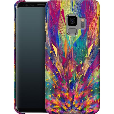 Samsung Galaxy S9 Smartphone Huelle - Triangles Explosion von Danny Ivan