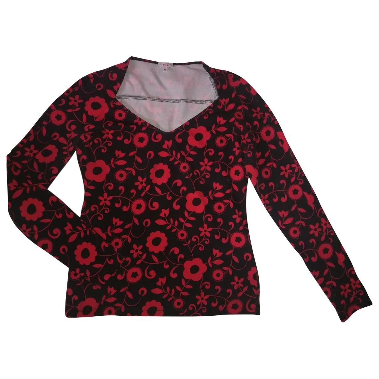 Versace - Top   pour femme en coton - rouge