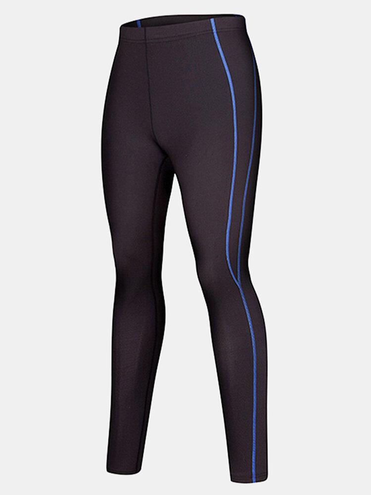 Mens PRO Quick Dry Breathable Skinny Legging Running Training Sport Pants