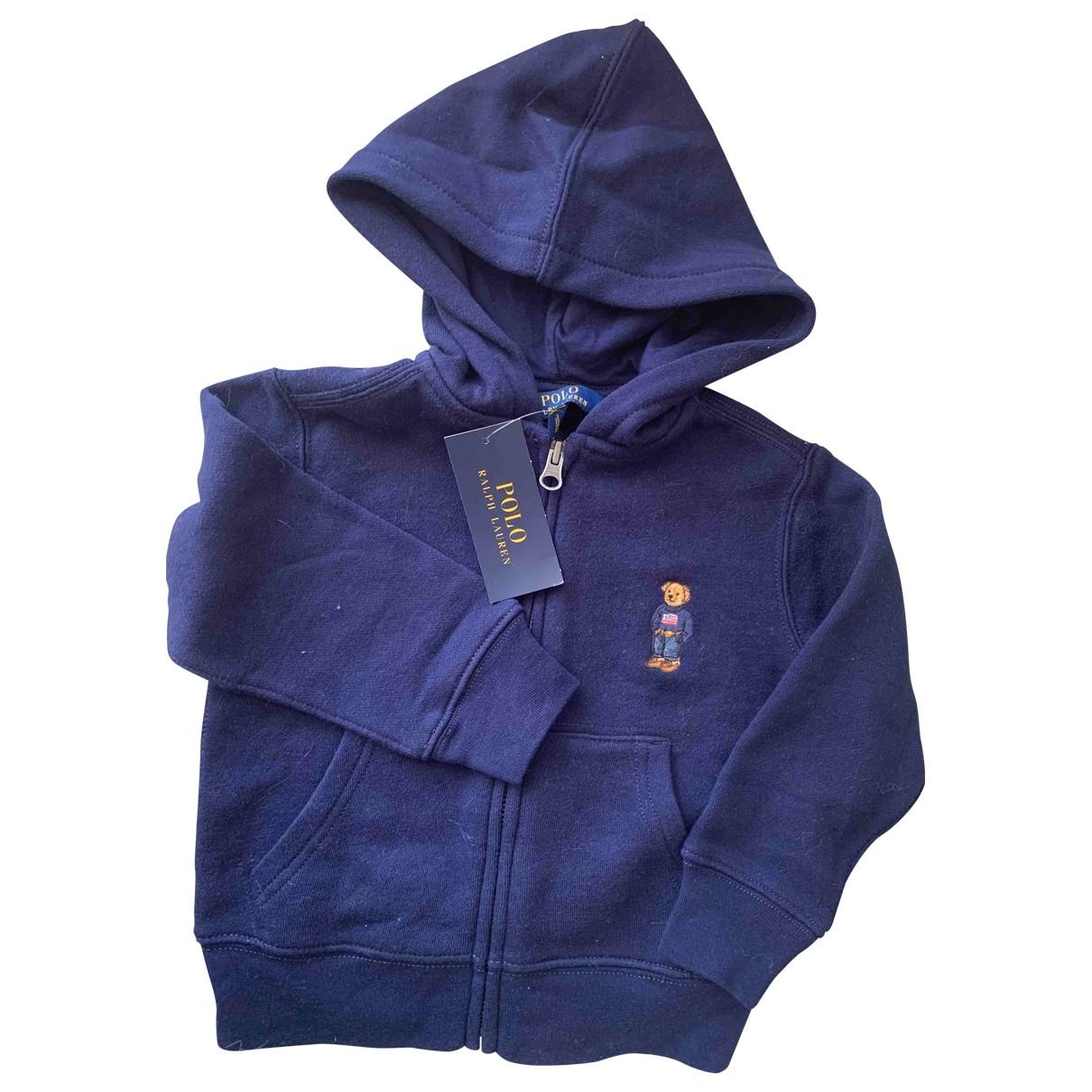 Polo Ralph Lauren \N Pullover, StrickJacke in  Marine Baumwolle