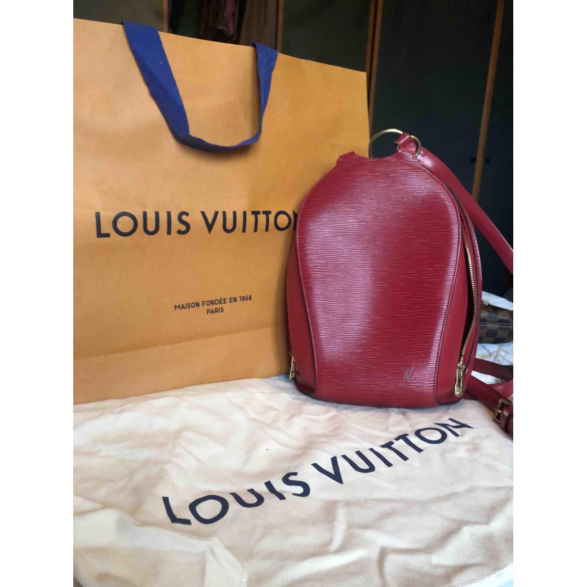 Louis Vuitton Ellipse Rucksaecke in  Rot Leder