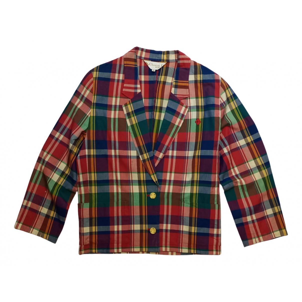 Dior - Veste   pour femme en coton - multicolore