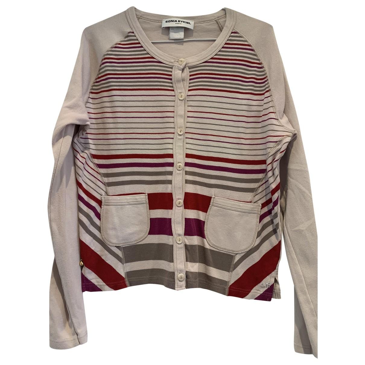 Sonia Rykiel - Pull   pour femme en coton - beige