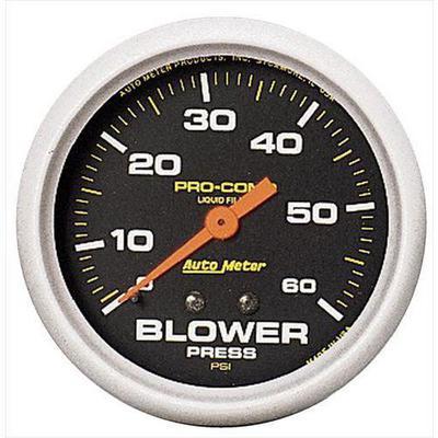 Auto Meter Pro-Comp Liquid-Filled Mechanical Blower Pressure Gauge - 5402