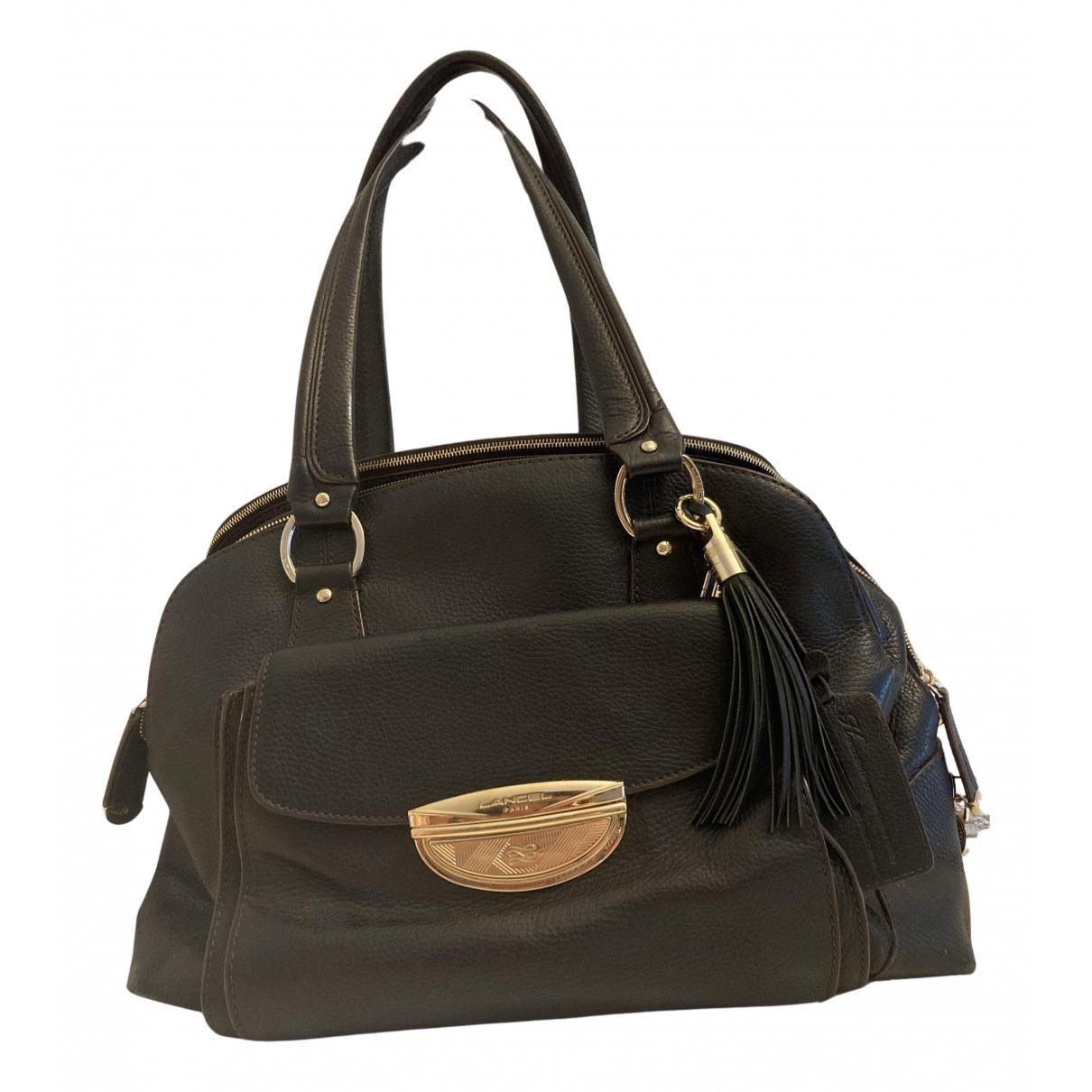 Lancel Adjani Black Leather handbag for Women N