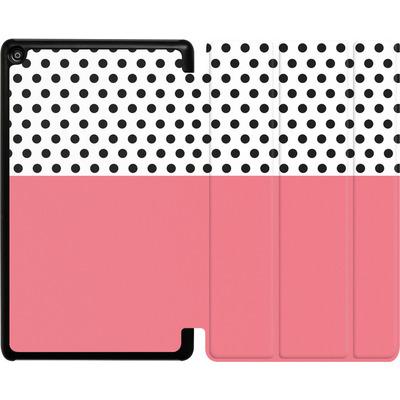 Amazon Fire HD 8 (2018) Tablet Smart Case - Coral Dots von caseable Designs