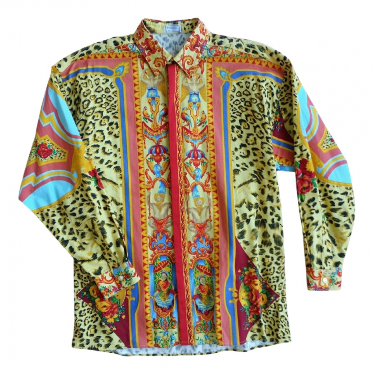 Gianni Versace \N Pullover.Westen.Sweatshirts  in  Bunt Baumwolle