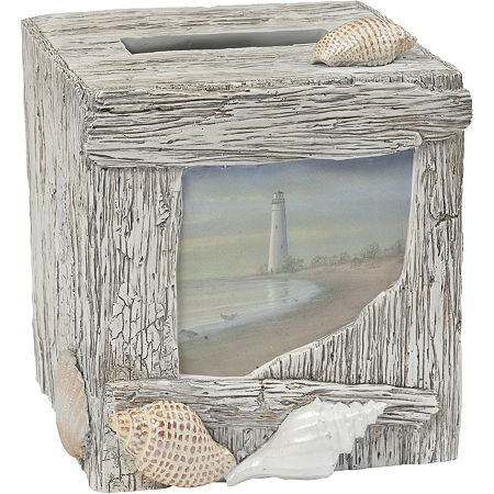 Creative Bath At The Beach Tissue Holder, One Size , Multiple Colors