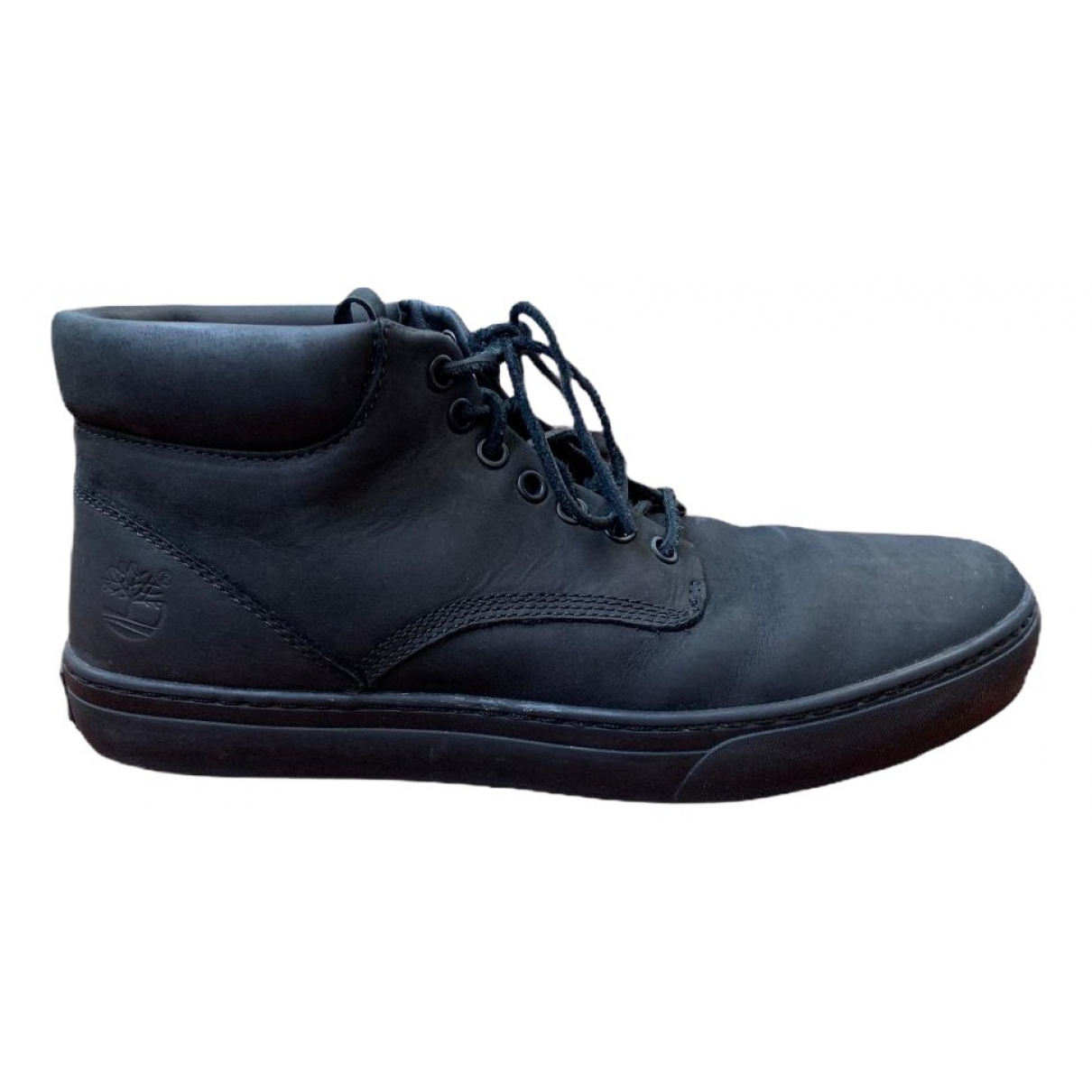 Timberland \N Black Leather Boots for Men 45 EU