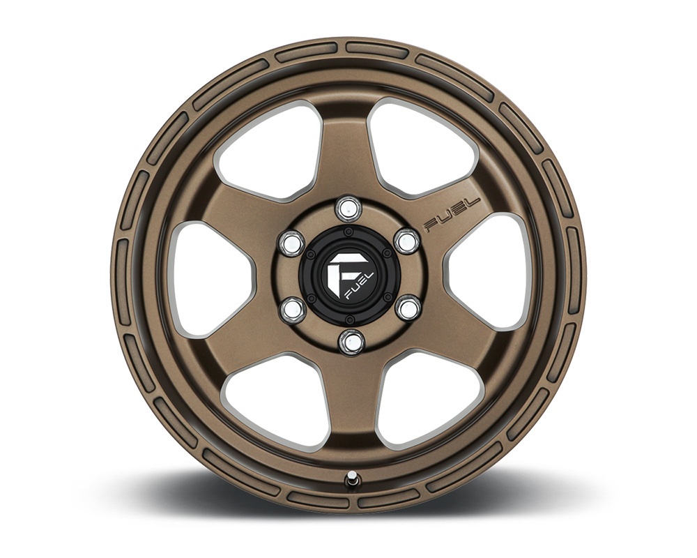 Fuel D666 Shok Bronze 1-Piece Cast Wheel 17x9 6x139.7 01mm