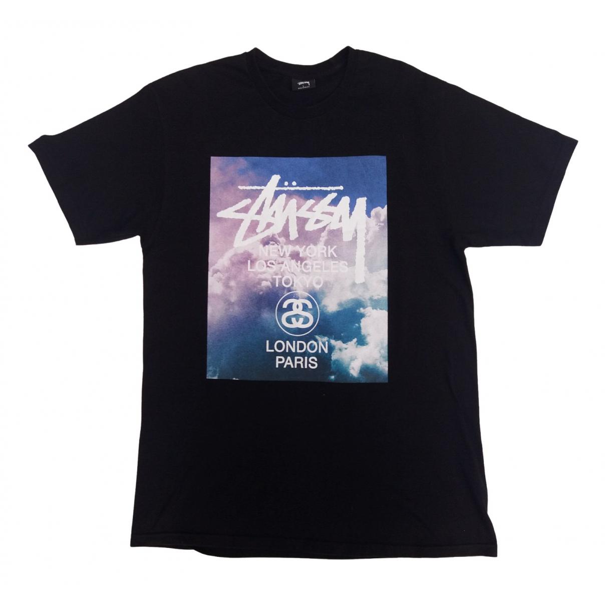 Stussy \N Black Cotton T-shirts for Men L International