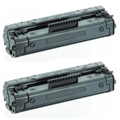Compatible HP 92A C4092A Black Toner Cartridge - Economical Box - 2/Pack