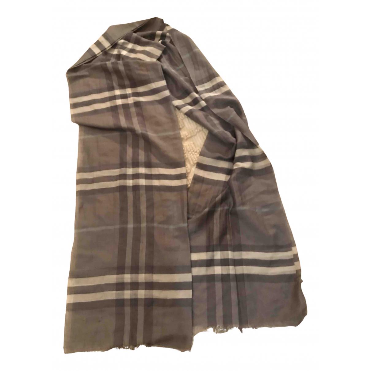 Burberry \N Multicolour Silk scarf for Women \N