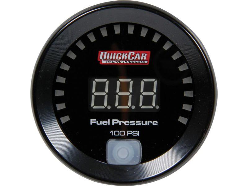 Quickcar Racing Products Digital Fuel Pressure Gauge 0-100