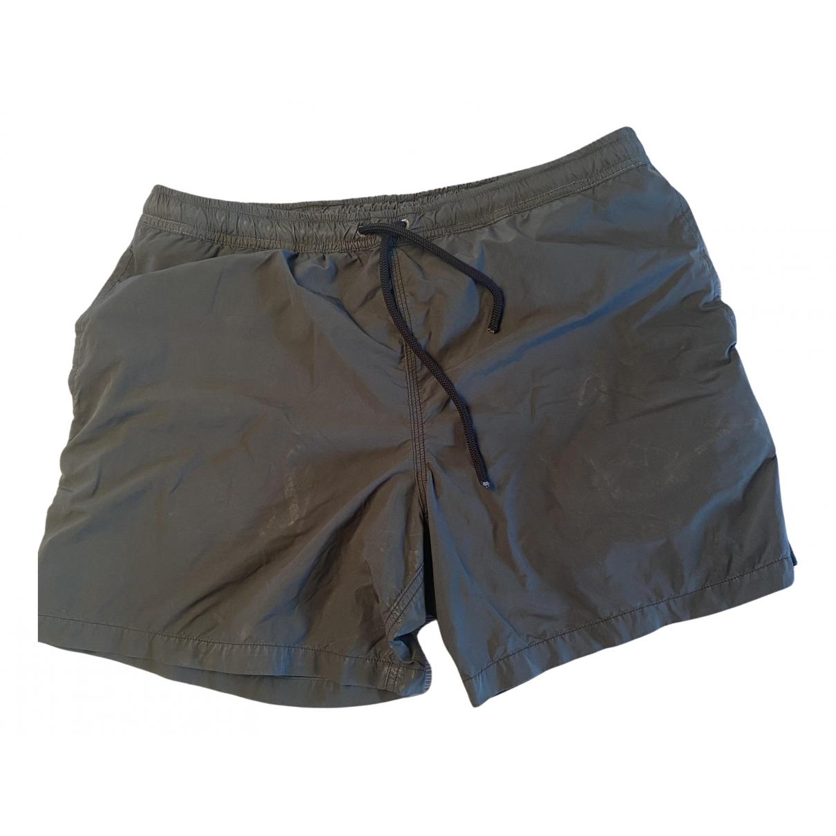 Aspesi - Bain   pour homme en coton - elasthane - vert