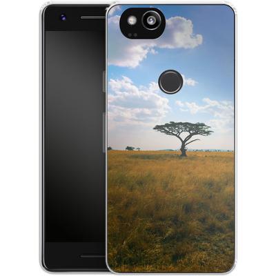 Google Pixel 2 Silikon Handyhuelle - Tanzanian Savanna von Omid Scheybani