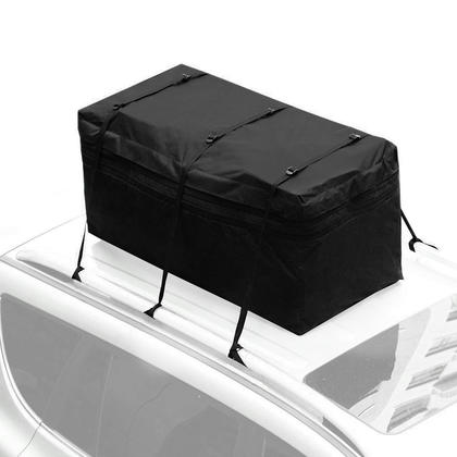 Cargo Bag Rooftop Hitch Tray Carrier Car Organizer Storage Expandable 15ft³ Waterproof - SortWise™