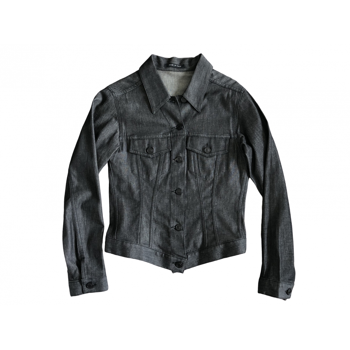 Gucci \N Jacke in  Schwarz Denim - Jeans