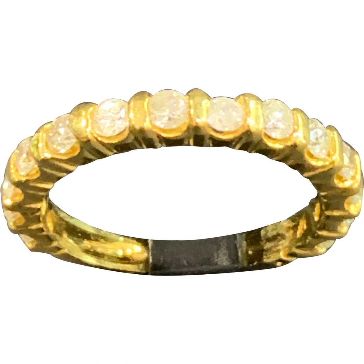 Non Signé / Unsigned Alliance Yellow gold ring for Women 56 MM