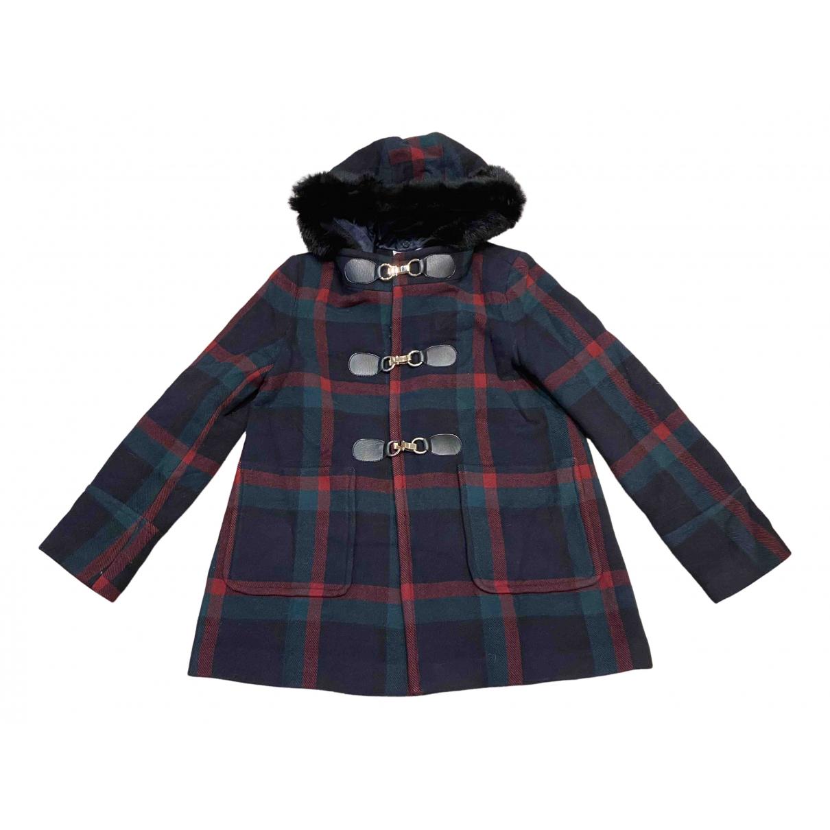 Claudie Pierlot - Manteau   pour femme en laine - multicolore