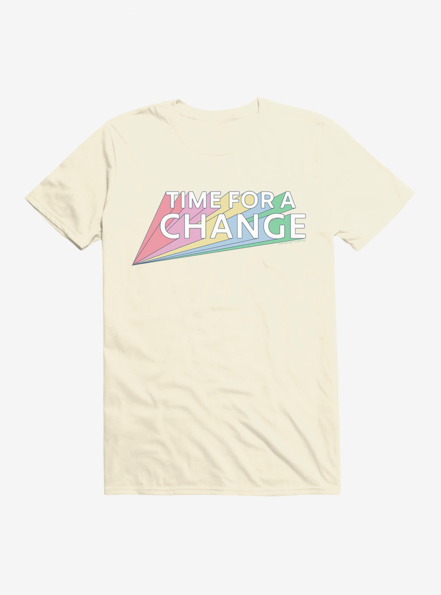 Doctor Who Thirteenth Doctor Time For A Change Rainbow T-Shirt