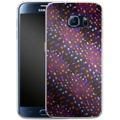 Samsung Galaxy S6 Silikon Handyhuelle - Spike Pattern von Danny Ivan