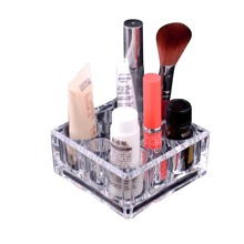 1pc Clear Cosmetic Storage Box