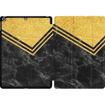 Apple iPad 9.7 (2017) Tablet Smart Case - Gold Marble von caseable Designs