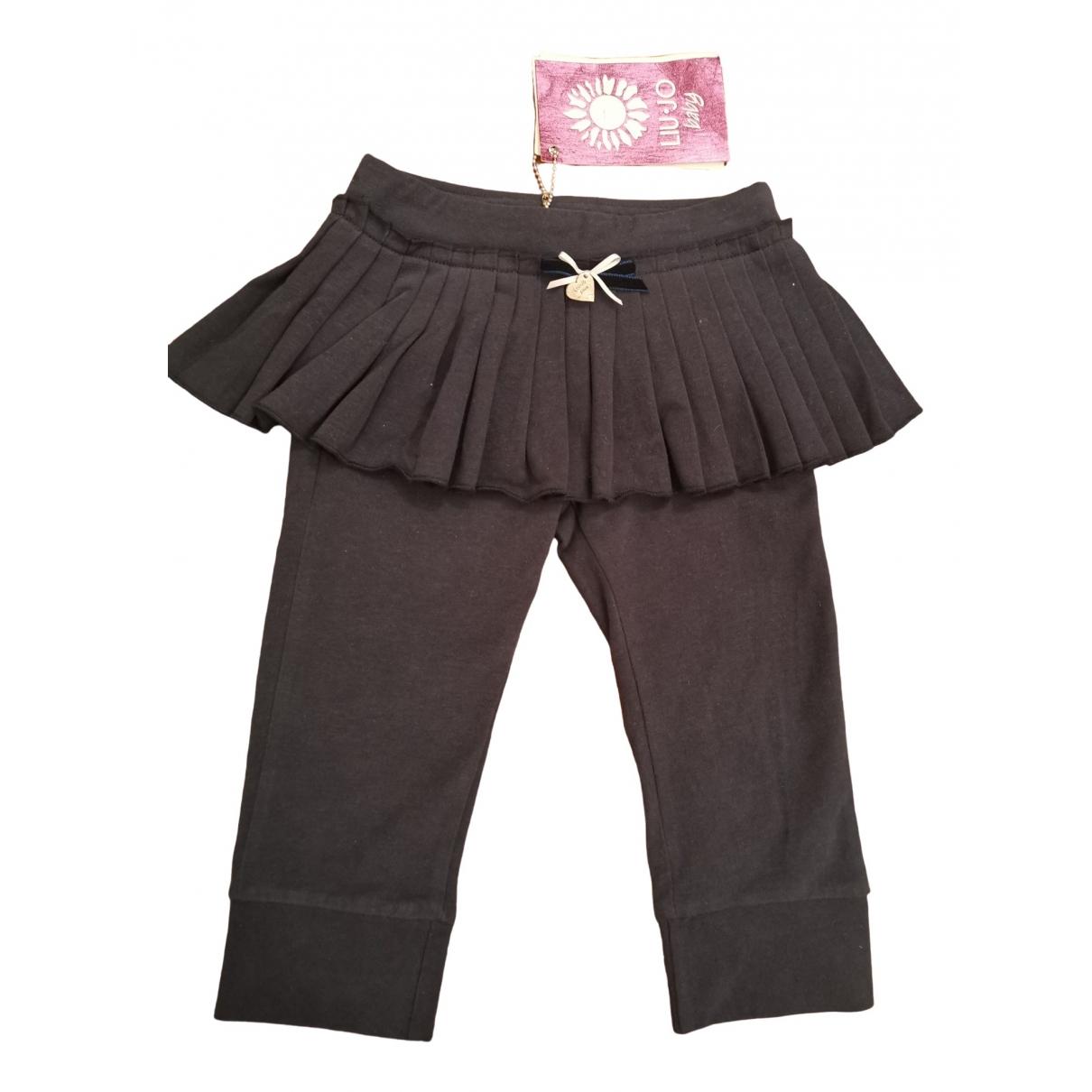 Liu.jo - Pantalon   pour enfant en coton - bleu