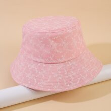 Plant Pattern Bucket Hat