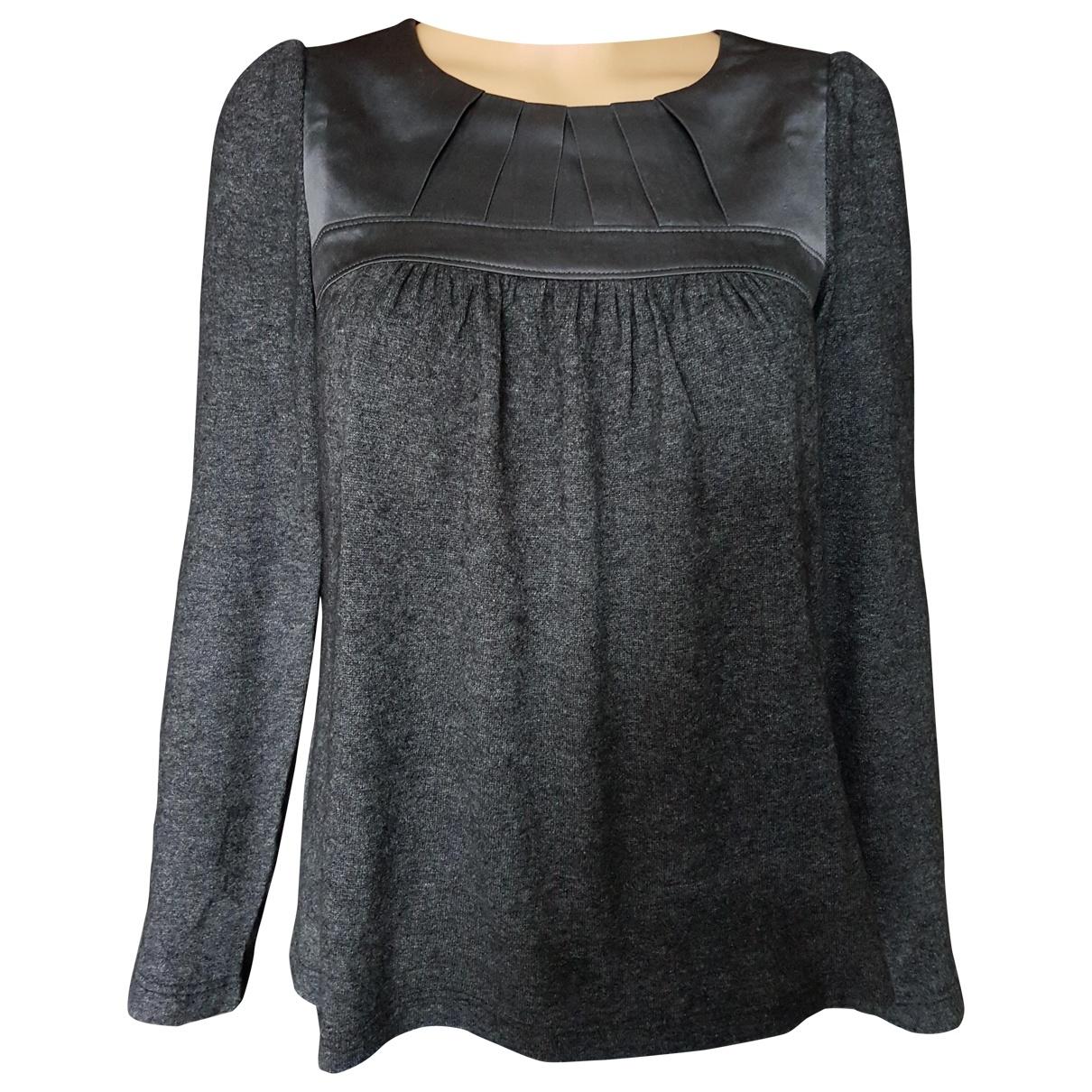 Tara Jarmon \N Anthracite Wool  top for Women 36 FR