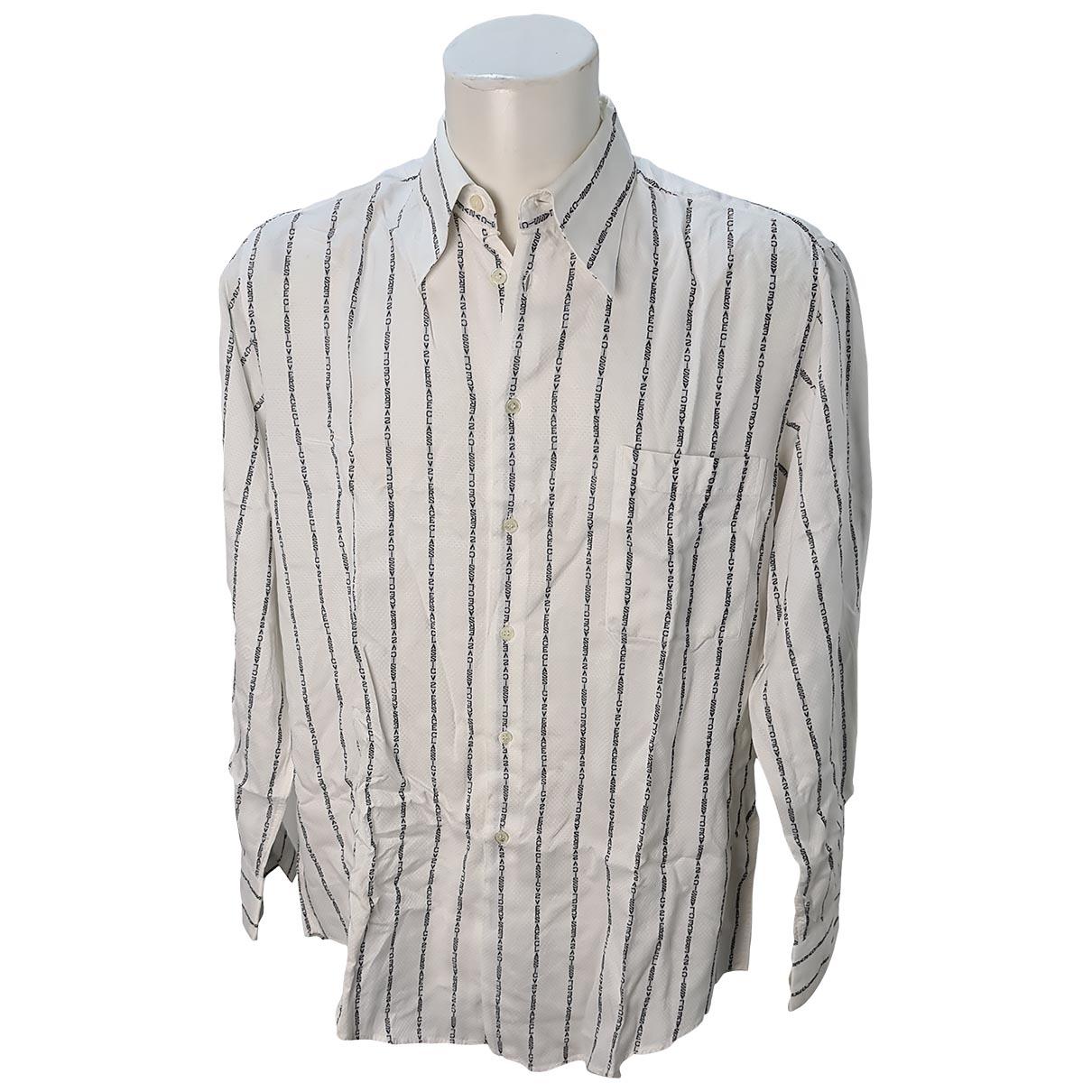 Versace \N Hemden in  Weiss Baumwolle