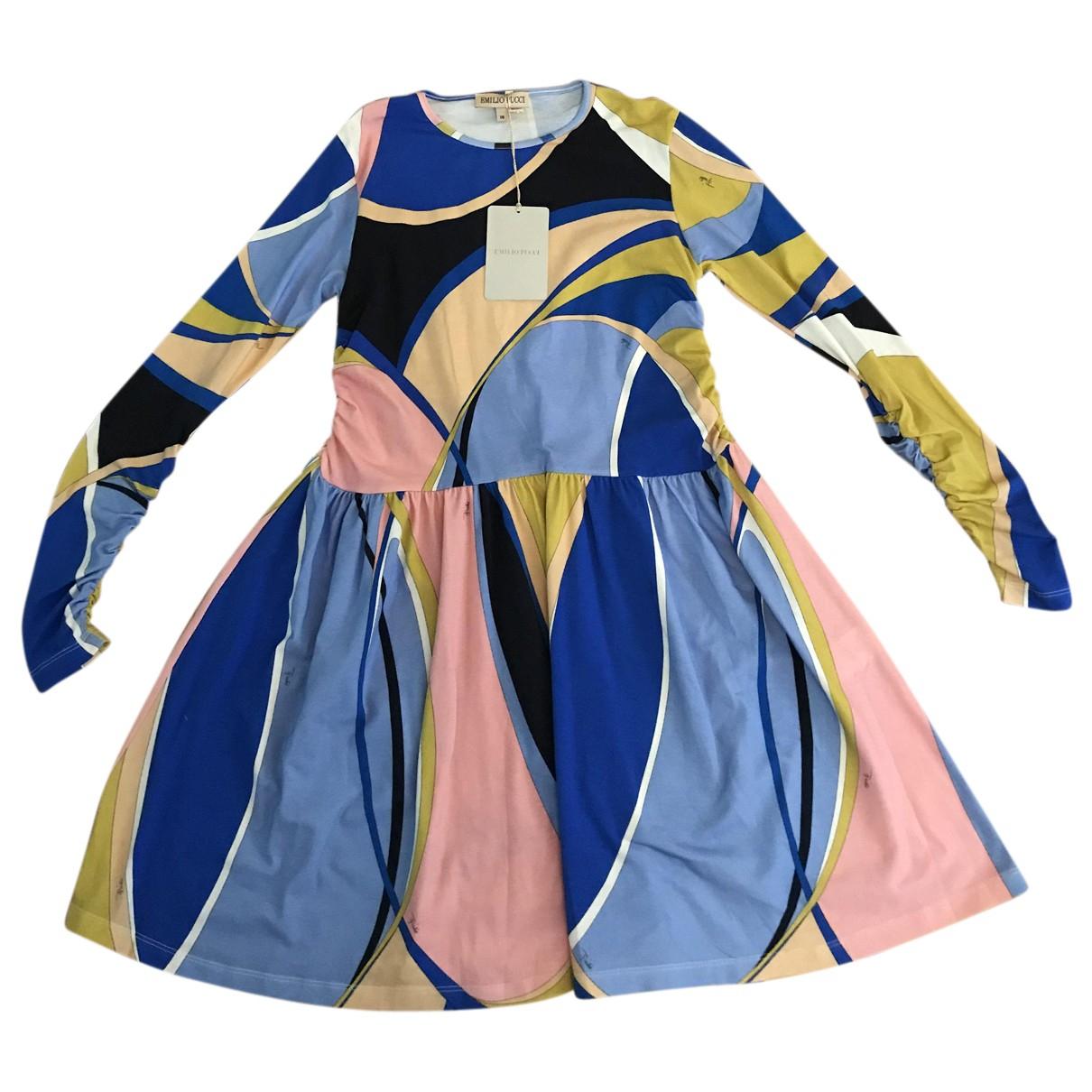 Emilio Pucci \N Kleid in  Bunt Baumwolle
