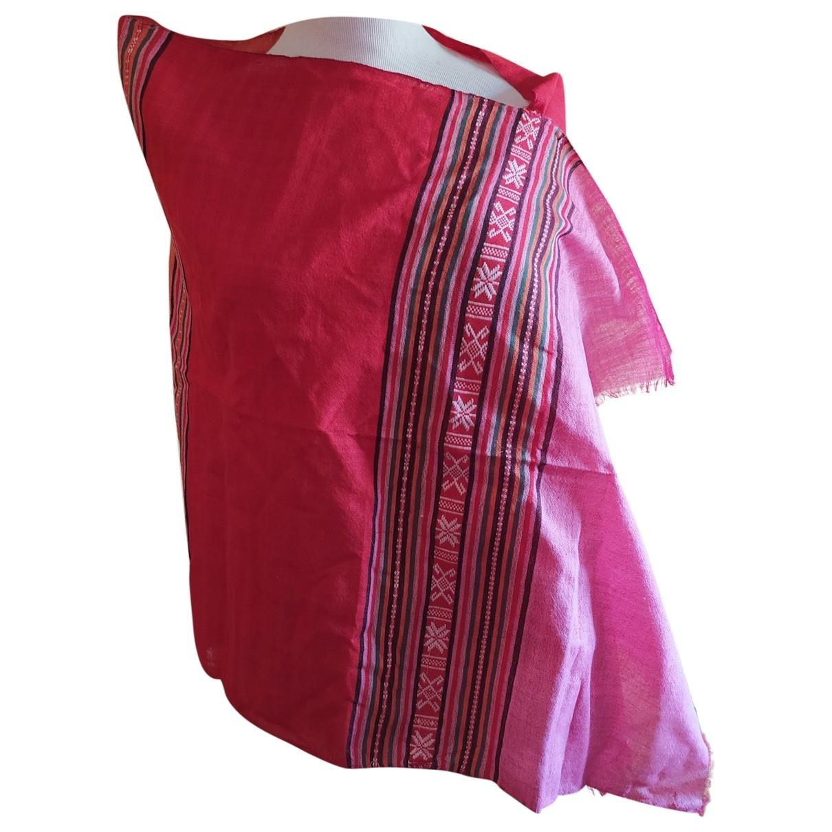 - Foulard Hippie Chic pour femme en coton - multicolore