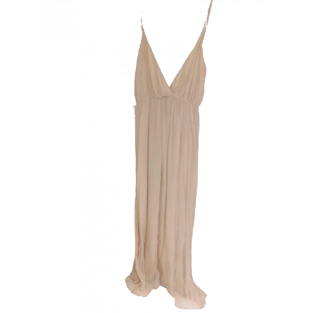 Anine Bing - Robe   pour femme en soie - rose