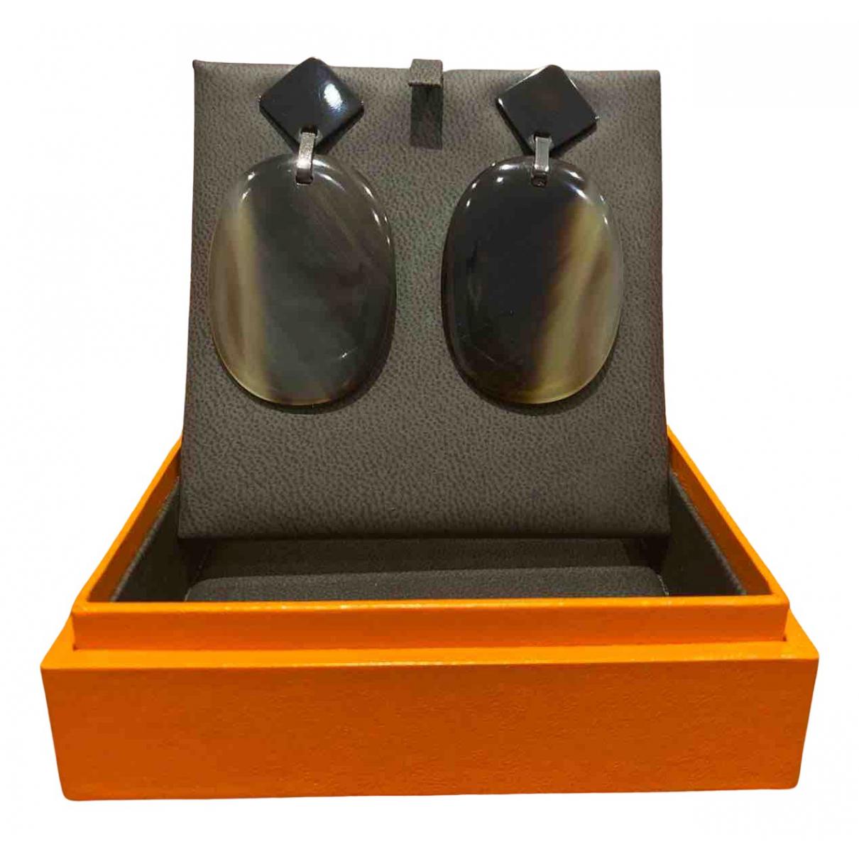 Hermes \N OhrRing in  Bunt Metall