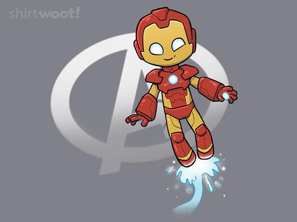 Iron Smirk T Shirt
