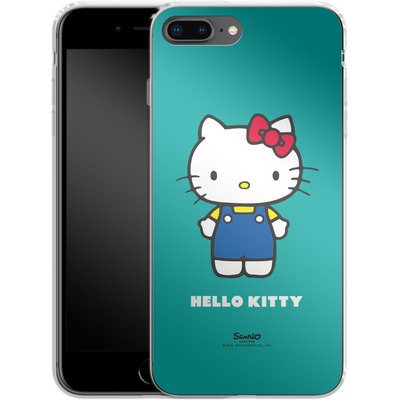 Apple iPhone 7 Plus Silikon Handyhuelle - Hello Kitty Front von Hello Kitty