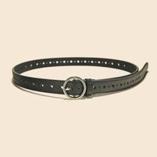 Eyelet Design Buckle Belt