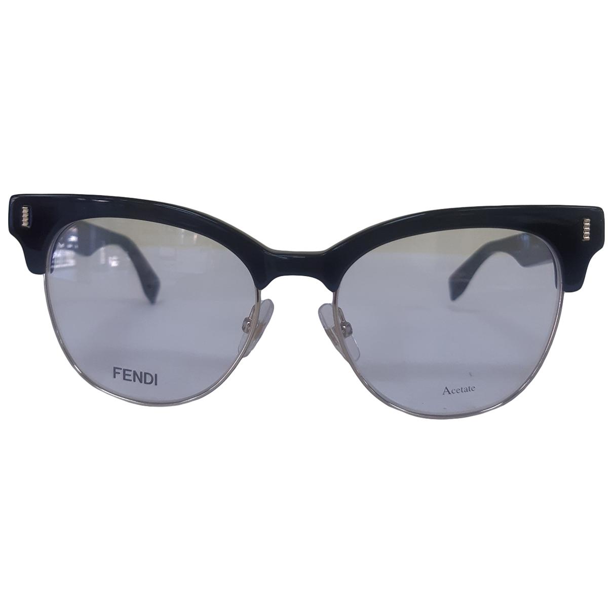 Fendi \N Sonnenbrillen in  Schwarz Kunststoff