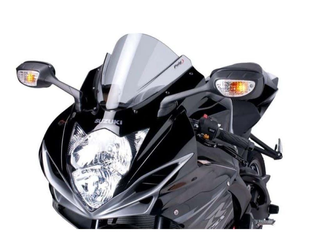 Puig 5605W Z-Racing Windscreen - Clear Suzuki GSX-R600 2011