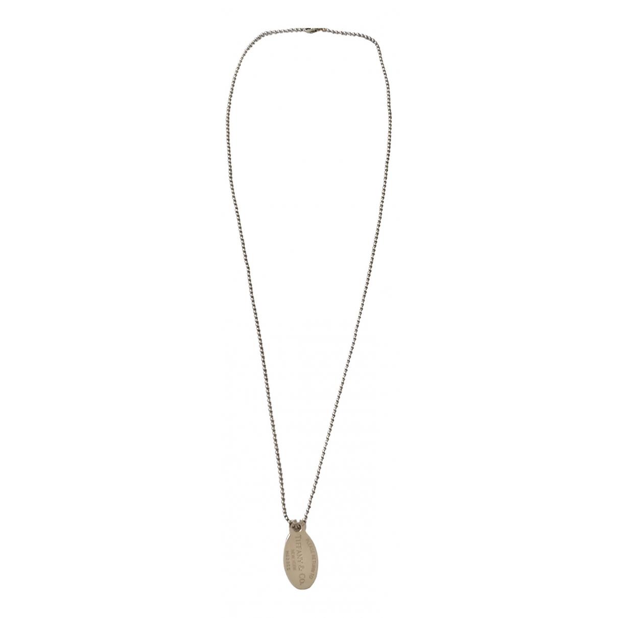 Collar largo Return to Tiffany de Plata Tiffany & Co
