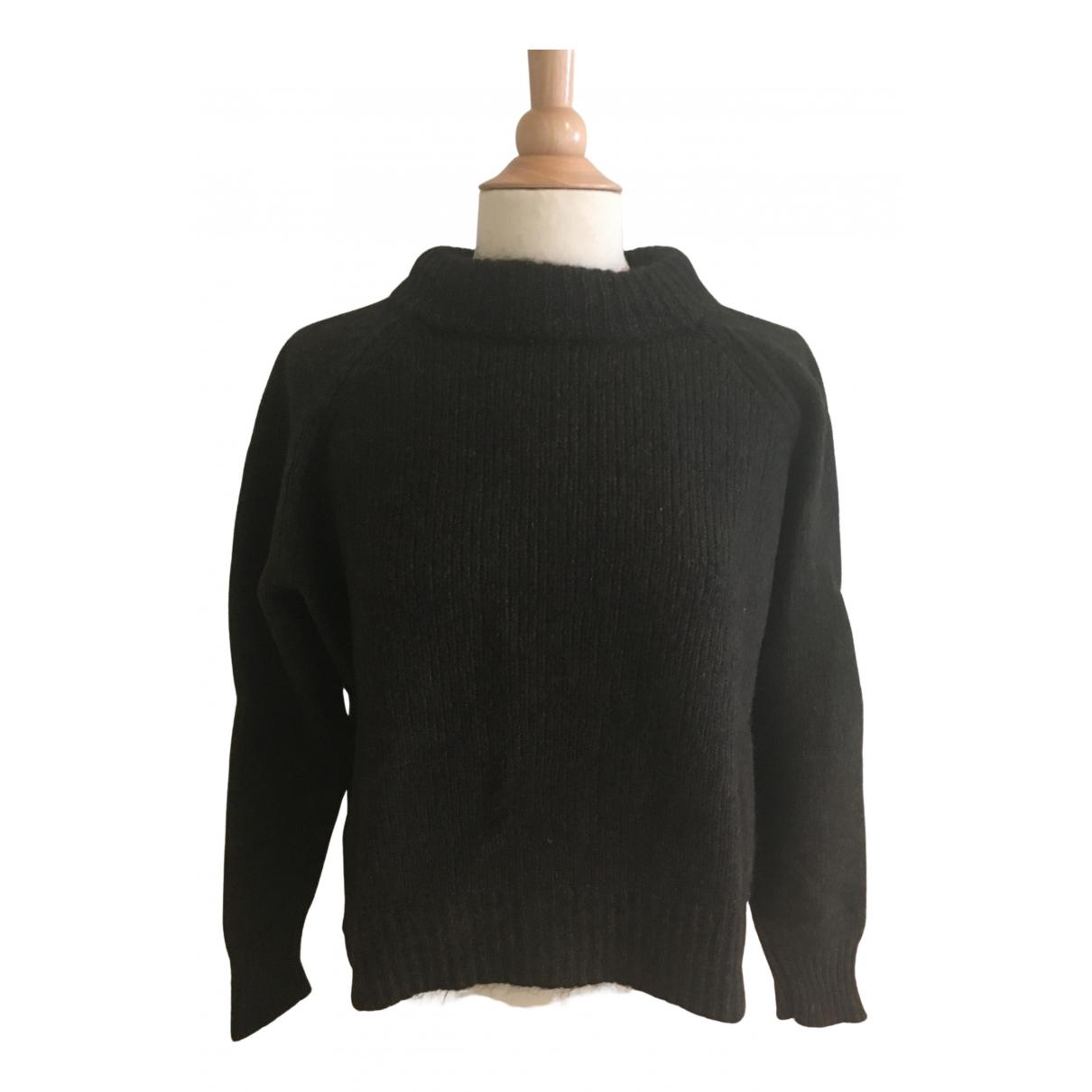 Marni - Pull   pour femme en laine - marron