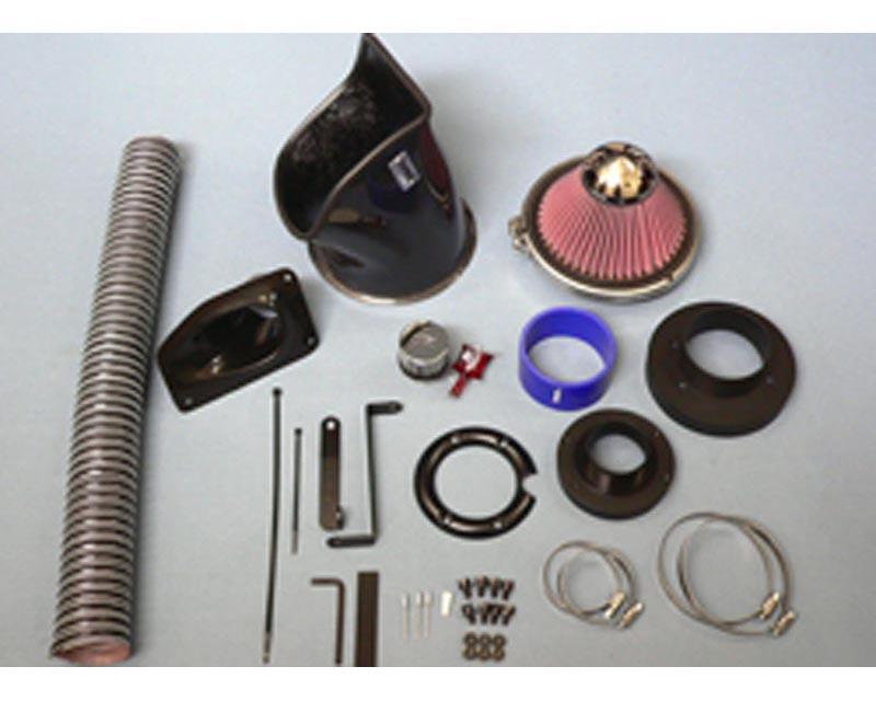 GruppeM FRI-0117 Carbon Fiber Ram Air Intake System BMW X5 E53 V8 4.4/4.6 00-04