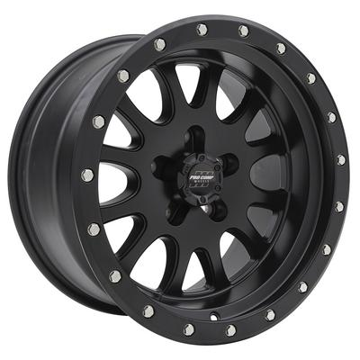 Pro Comp 44 Series Syndrome, 17x9 Wheel with 5 on 5 Bolt Pattern - Satin Black - 5044-7973