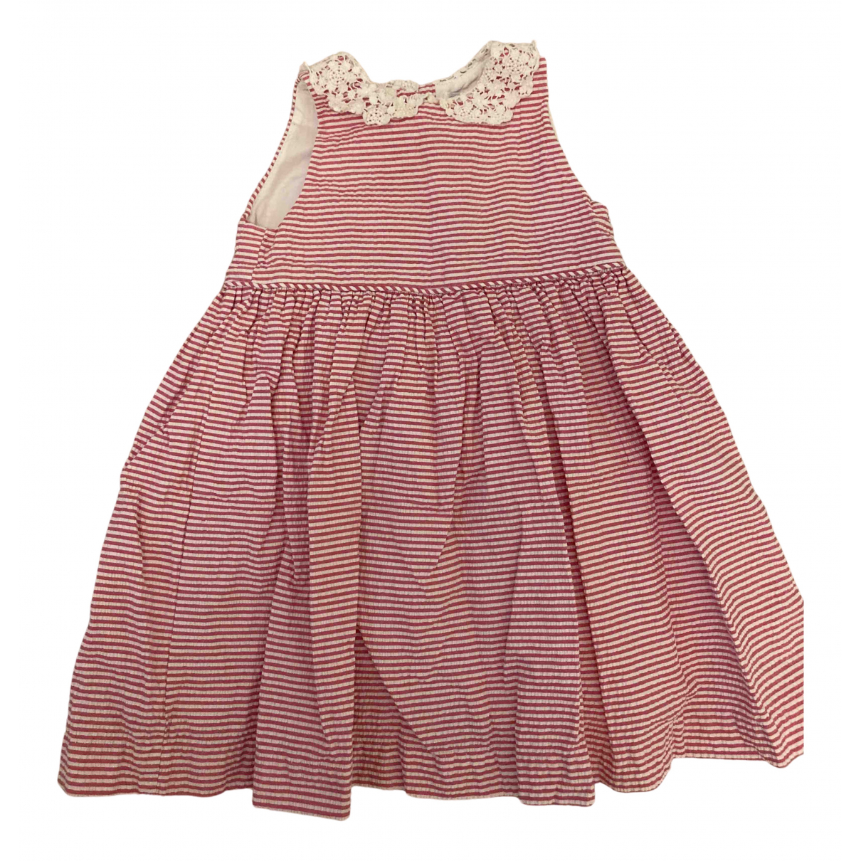 Ralph Lauren N Pink Cotton dress for Kids 18 months - up to 81cm FR