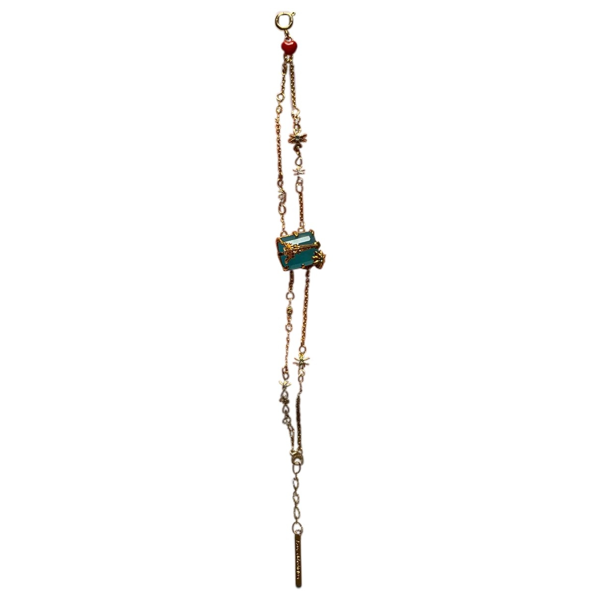 Les Nereides - Bracelet   pour femme en metal - dore