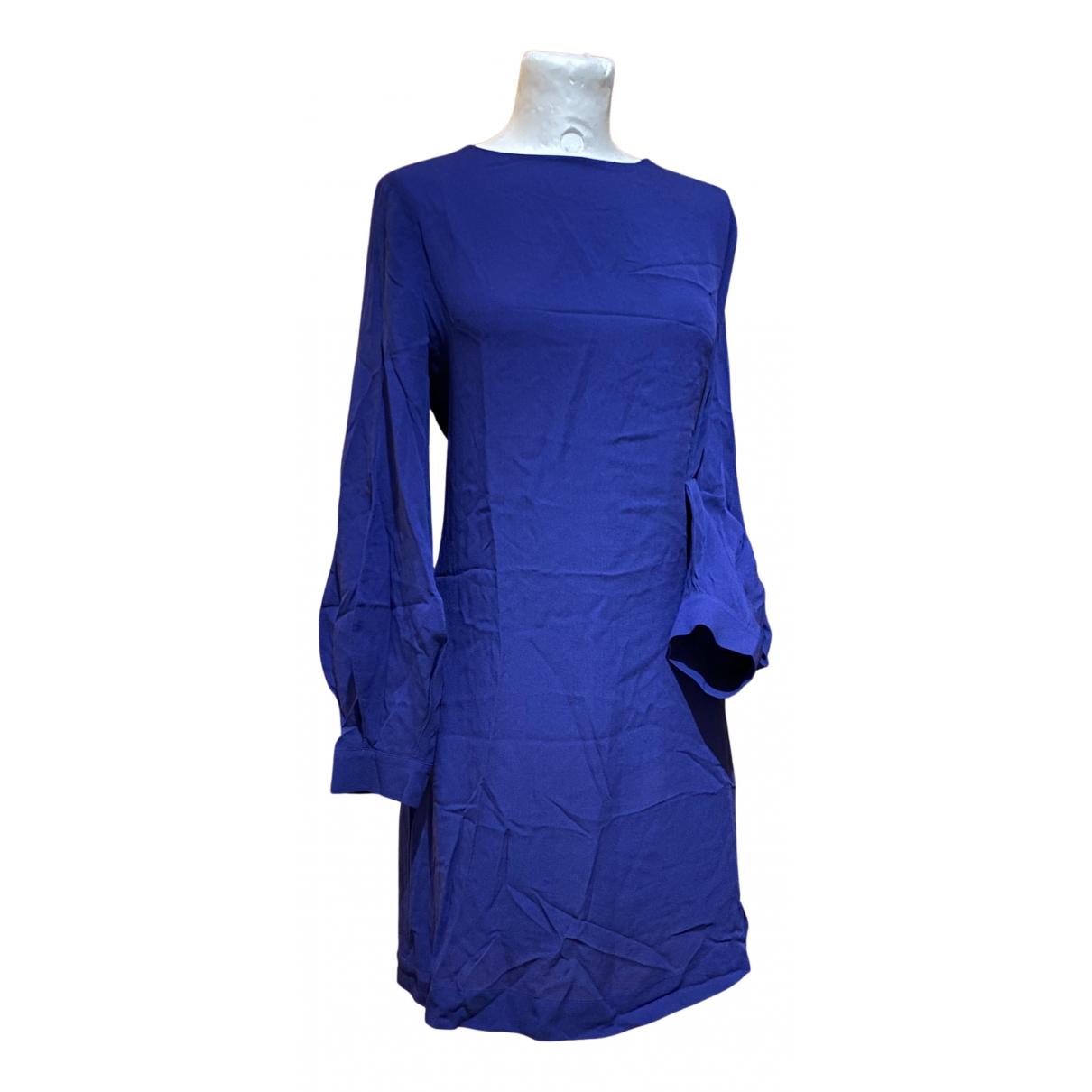 Erika Cavallini \N Kleid in  Blau Seide